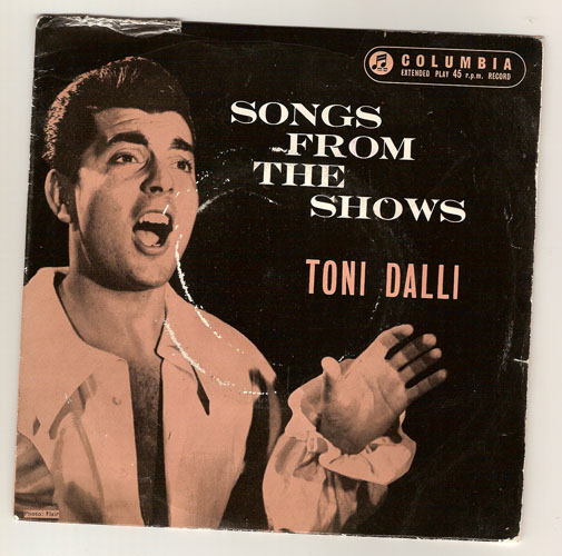 "TONI DALLI ""Songs from the Shows"" EP"